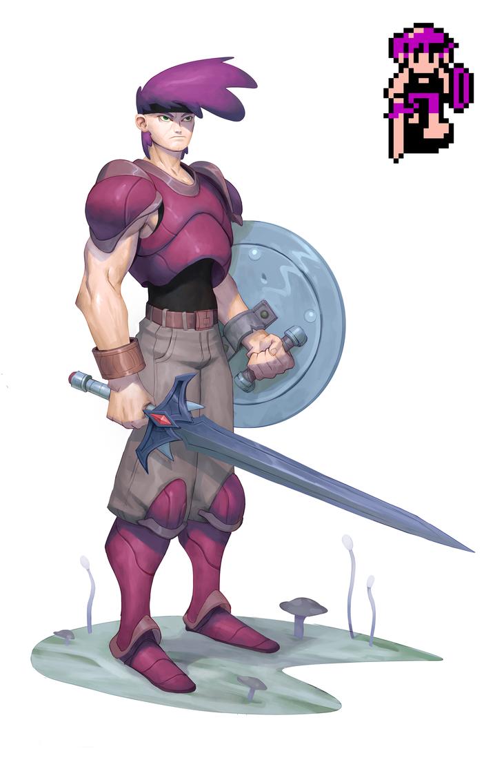 Crystalis Character by joekelleriv