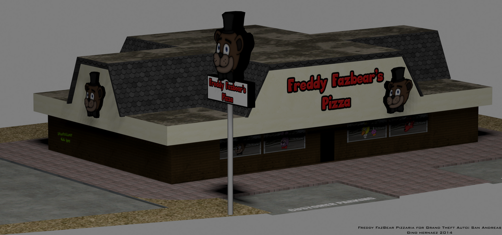 Freddy fazbear s pizza gta sa by ginopinoy on deviantart