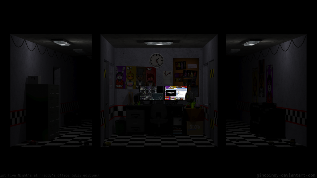 Fnaf Fan Made Office