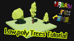 How to make a low poly tree in 3ds max by UrbanFoxGamer