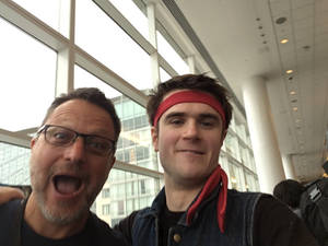 Katsucon 2018 - Me and Steve Blum!