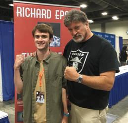 Otakon 2019 - Me and Richard Epcar!