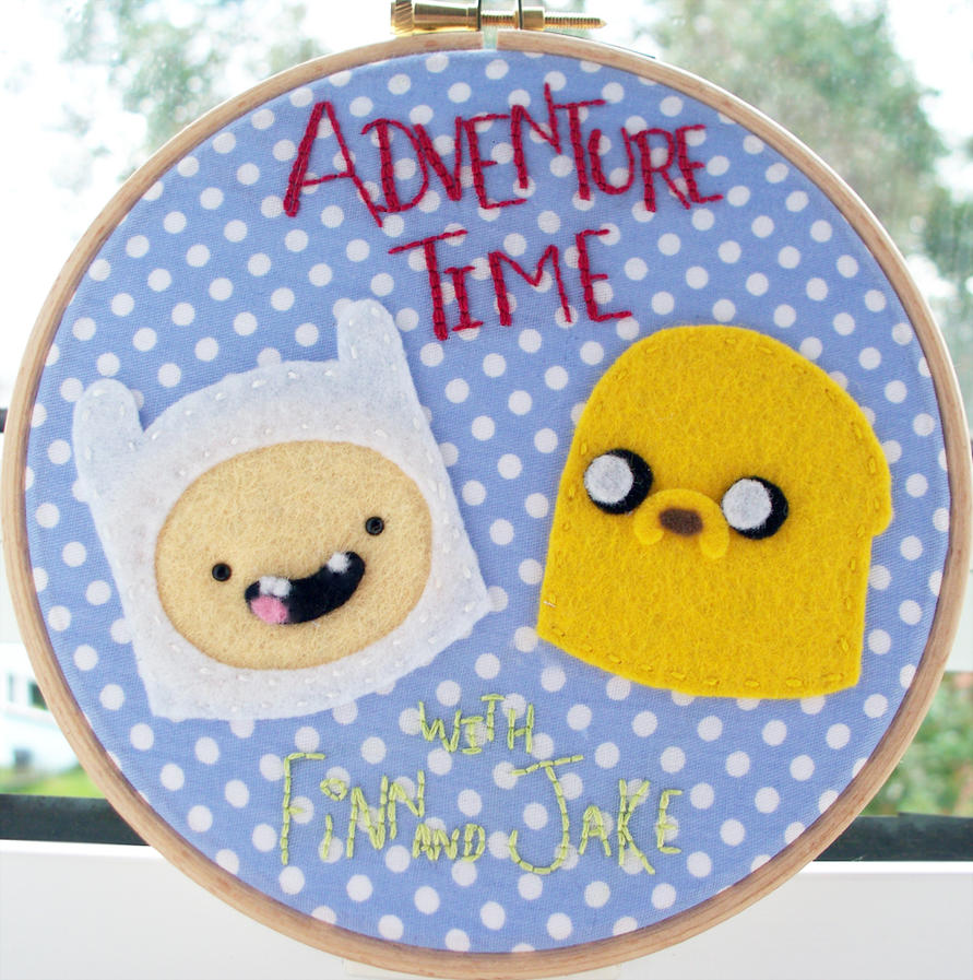 Adventure Time with Finn and Jake by RedonkulousEmmy