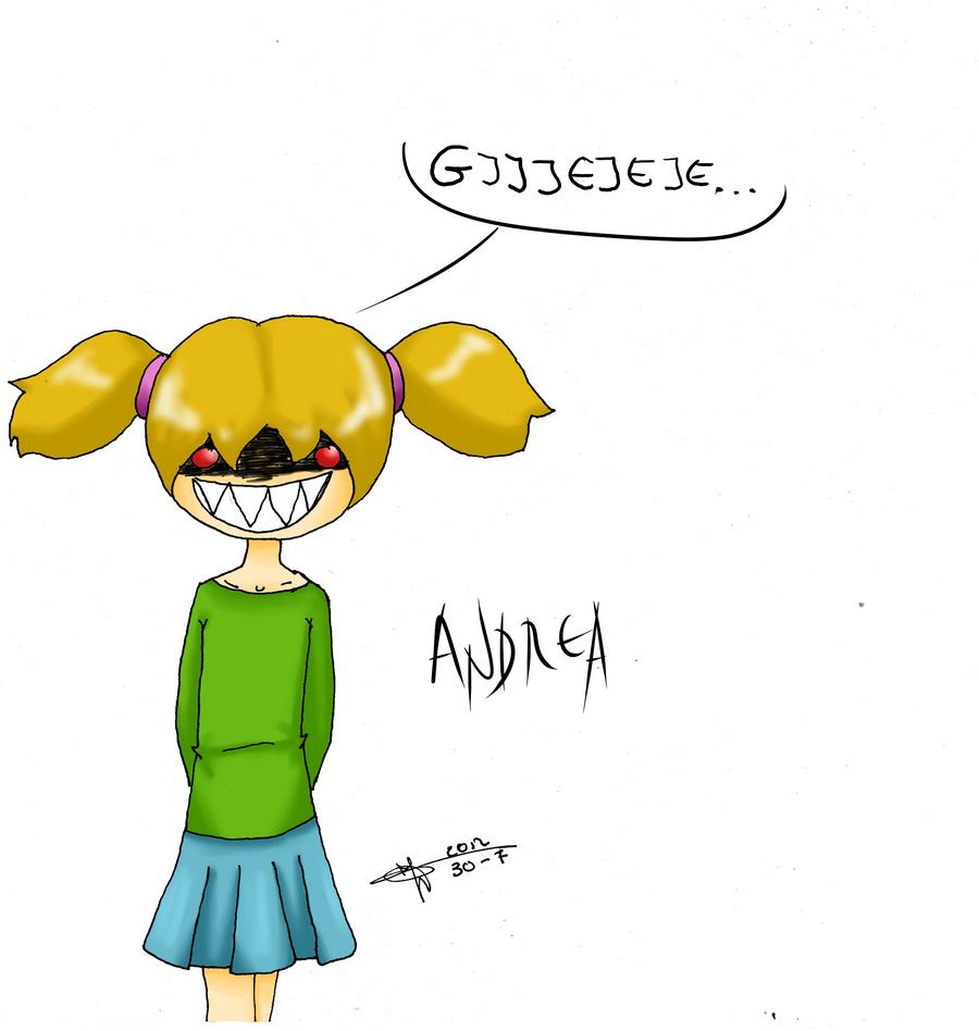 Andrea (Pequenos Tiranos) by KatiaQuartz