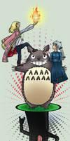 Ghibli Characters Salad