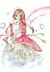 Hisae, the Priestess by Clampy-TFA