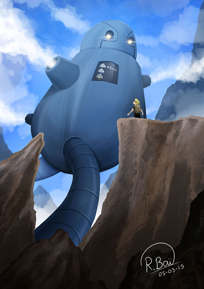 The Cloud Maker by Clampy-TFA