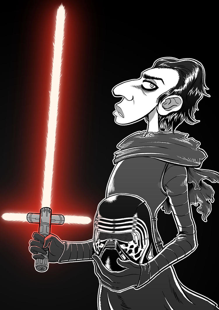 Kylo Ren by Clampy-TFA