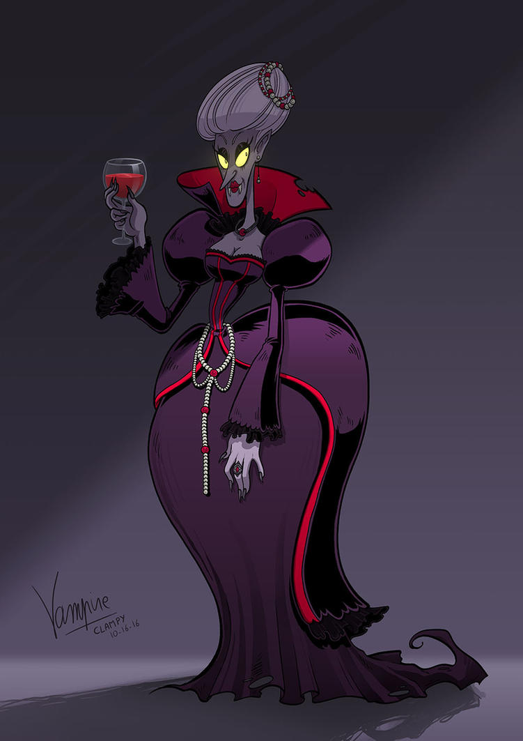 CHARACTER DESIGN CHALLENGE :: Vampire by Clampy-TFA
