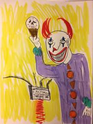 Klown With Ice Scream