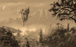 Floating Land by Futurodox