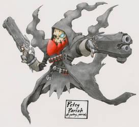 Pokemon X Overwatch: Darkrai X Reaper by PeteyPariah