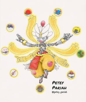 Pokemon X Overwatch: Mega Medicham X Zenyatta