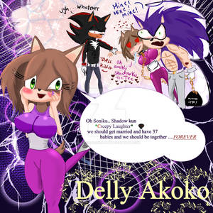 The Undying Fantasy of Delly Akoko