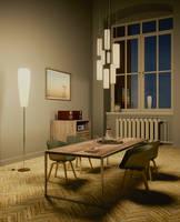Dining Room IV by Schneckenhausmann