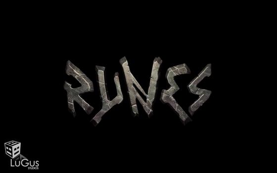 LuGus Studios' Runes: 3D logo