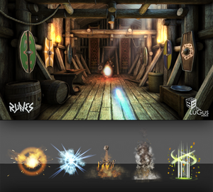 LuGus Studios' Runes: magic effects preview