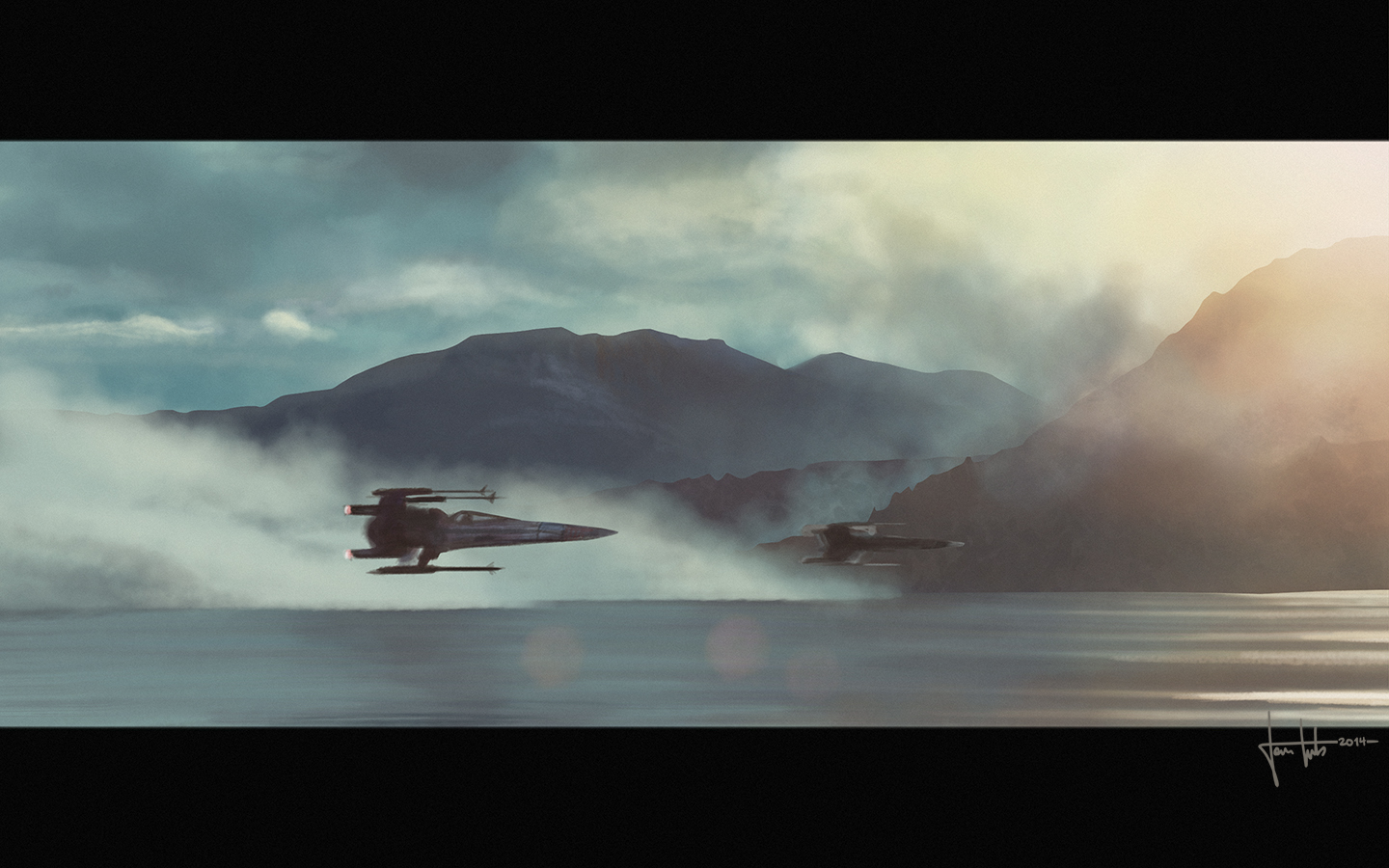 star wars the force awakens x wings by hyshinara on