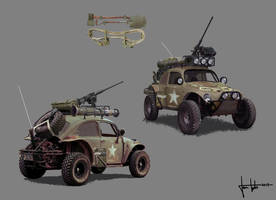 Military Baja Beetle concept