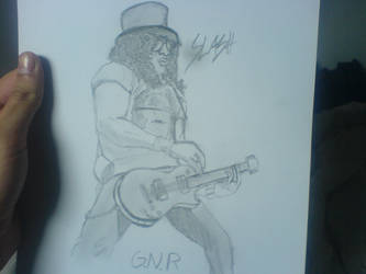 Guns 'n Roses - SLASH by TDuragon