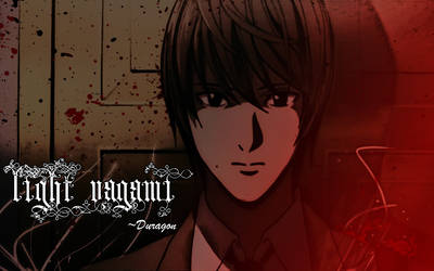 Yagami Light Wallpaper by TDuragon