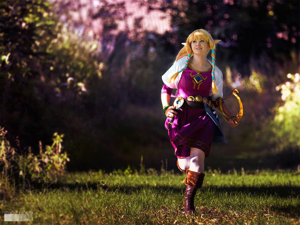 Legend of Zelda : Skyloft Girl by Shappi