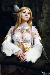 Arcana Light Elf  - Lineage 2 by Shappi