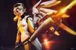 Healing stream engaged  - Mercy Overwatch