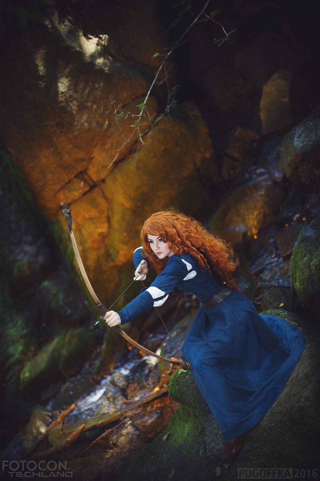 Merida - the Brave princess by Shappi