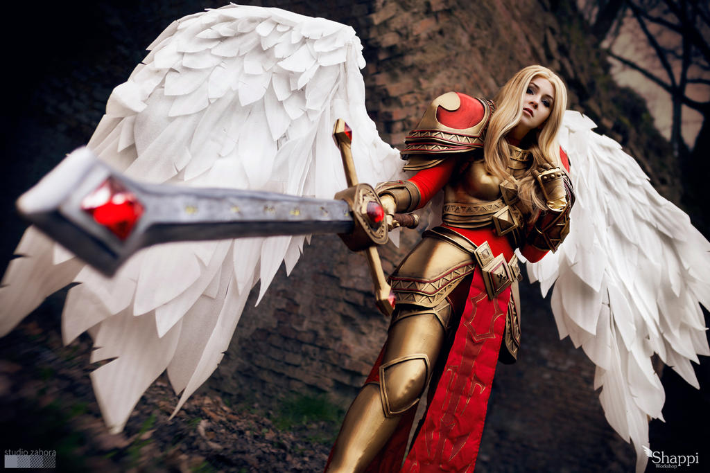 League of Legends :  Kayle by Shappi