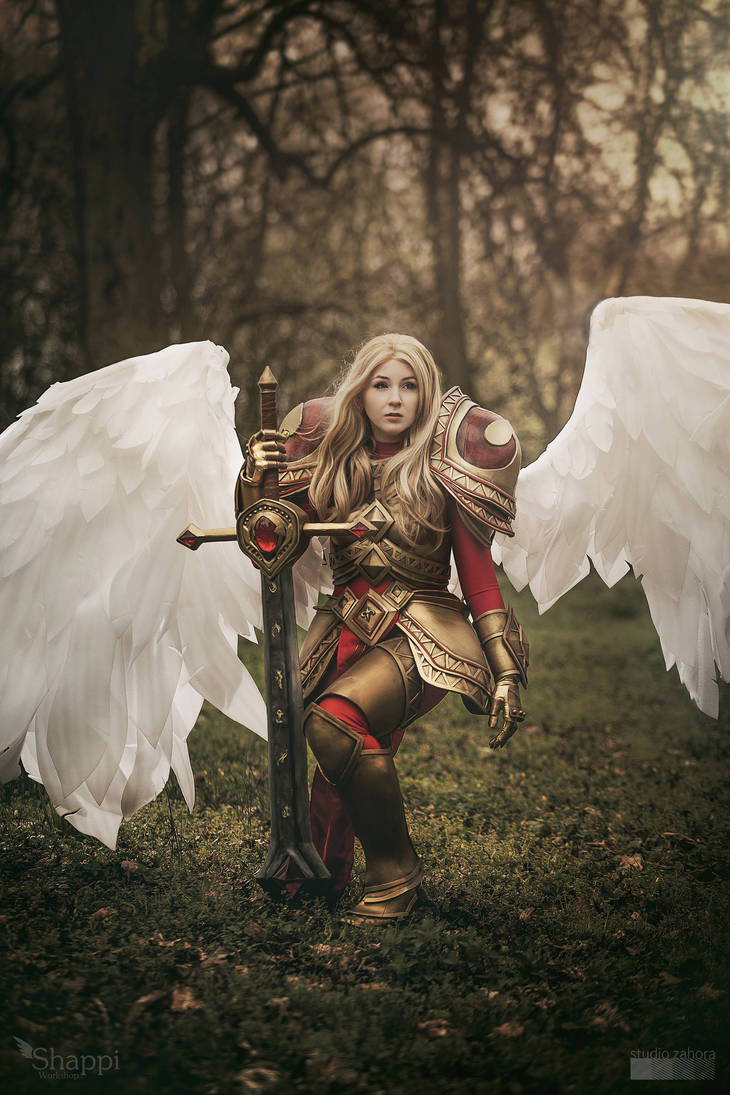 League of Legends : Kayle the Judicator by Shappi