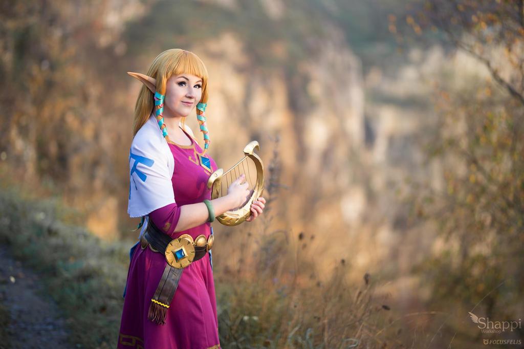 Princess Zelda - Legend of Zelda Skyward Sword by Shappi
