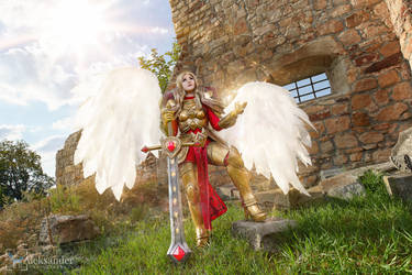 League of Legends :  Kayle the Unmasked by Shappi