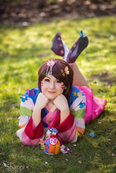 Palanquin DVA - Overwatch by Shappi