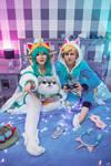 Pyjama Guardian Soraka and Ezreal - LoL