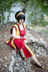 Toph ( Fire Nation ver) Avatar the Last Airbender by Shappi