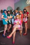 Sailor Moon Cafe cosplay
