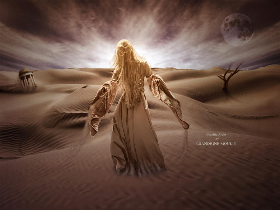 La fille du desert. by noune83