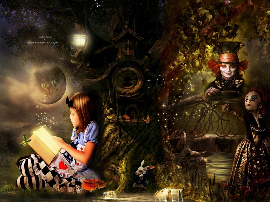 Alice au pays des merveilles by noune83 on deviantart - Maison alice au pays des merveilles ...