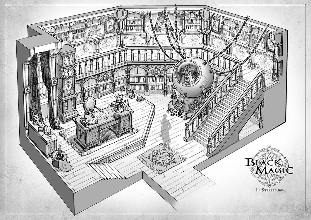 Magicians Study Room