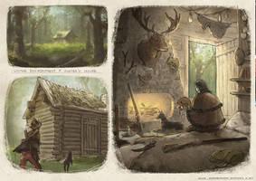 hunter's house by Elle-Shengxuan-Shi