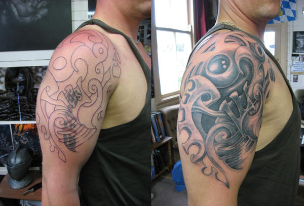 Maori Tattoo Cover Up: Tribal Cover Up 2 By Phoenixtattoos On DeviantArt