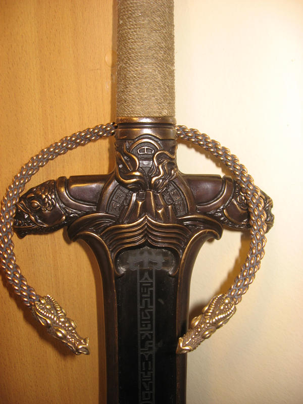 Atlantean Sword and Torc by phoenixtattoos