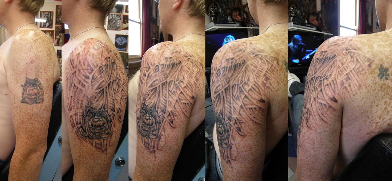 Tattoo Of Georgia Bulldog