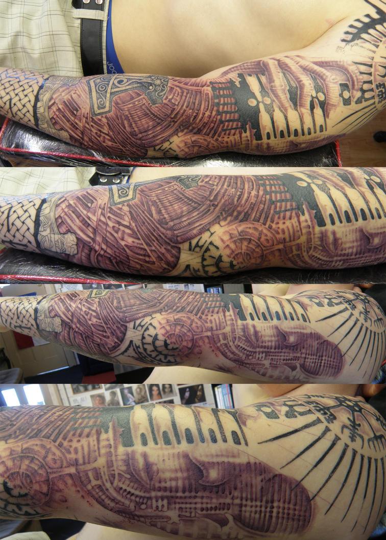 reubens arm 1 by phoenixtattoos