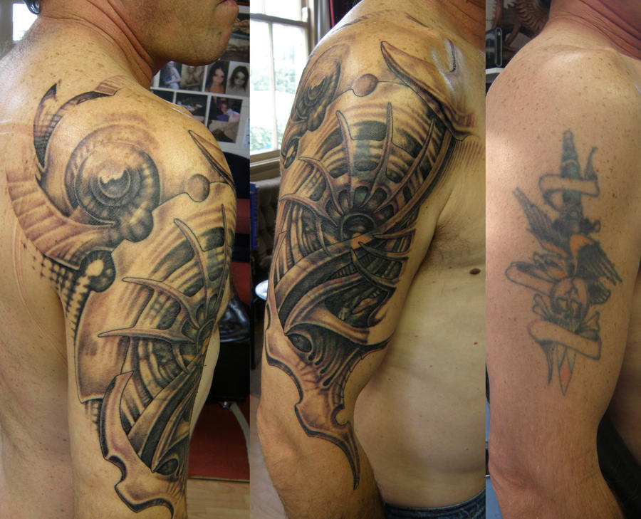 Steves Cover up 1 by phoenixtattoos