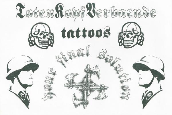 totenkopf tattoos by phoenixtattoos