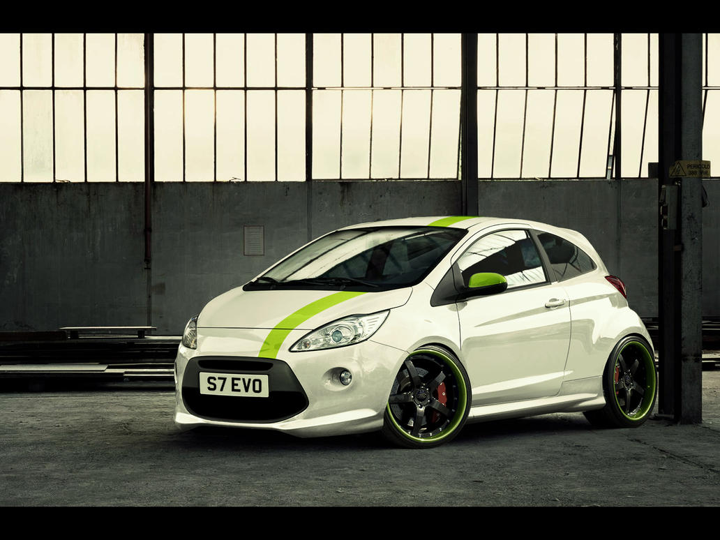 Ford Ka Small And Mighty By Es Boy
