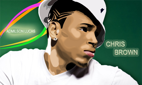 chris brown by Ademilson-Lucas
