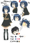 Minami Kaoru [Nonamu] Character Sheet